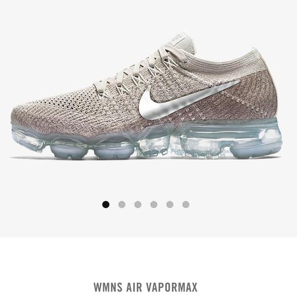 7219d12212ea Womens Nike air vapormax flyknit string chrome